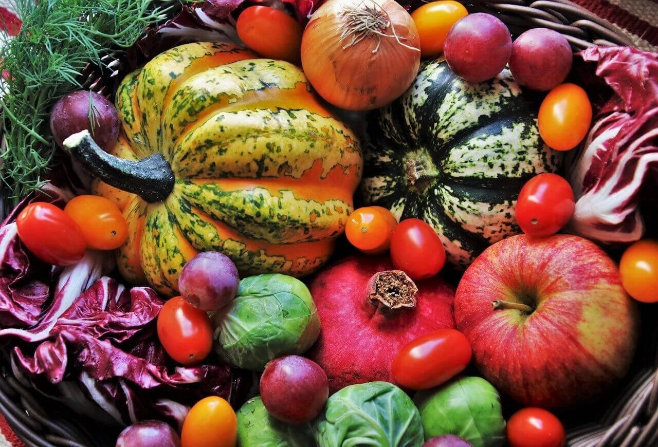 Värikkäät vihannekset terveydelle hyväksi